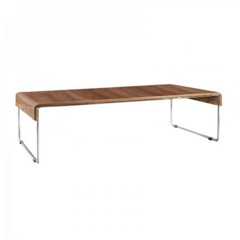 Table basse Musk en noyer