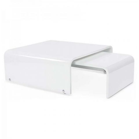 Table basse Galaxy Blanc
