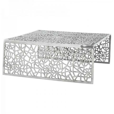 Table Basse Alvéole Aluminium