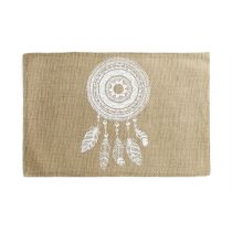 "Set de Table Jute ""Indila"" 30x45cm Naturel"