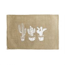 "Set de Table Jute ""Mexico"" 30x45cm Naturel"