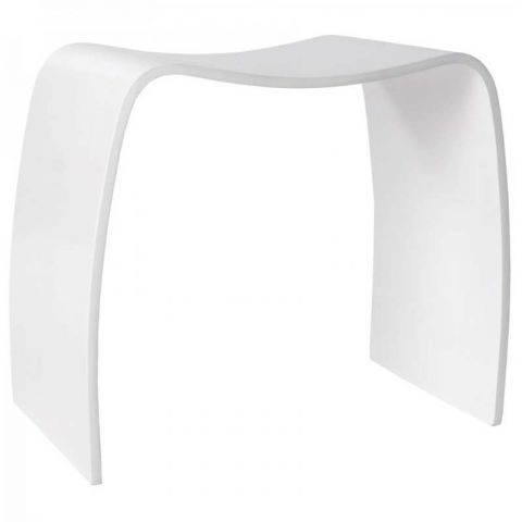 Table Basse d'Appoint Oméga Blanc