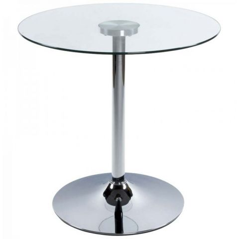 Table d'appoint Roll Transparente