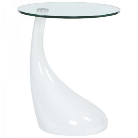 Table D'appoint design Music Blanche