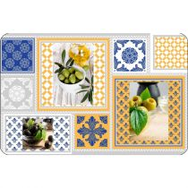 "Set de Table ""Olei"" 28x44cm Multicolore"