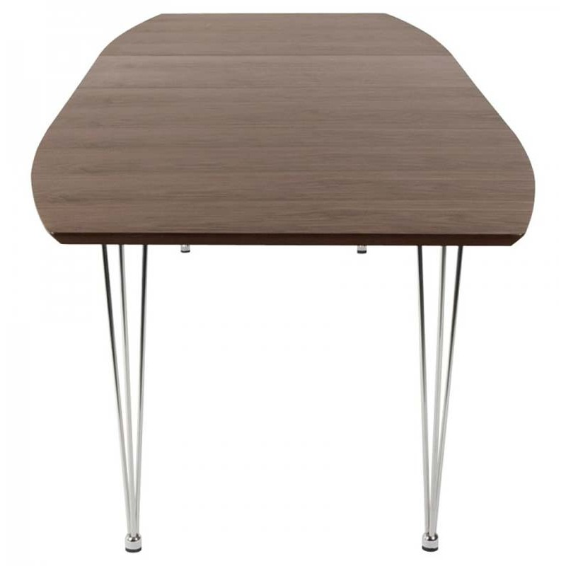 Table de salle manger extensible mikado 170 270cm for Table salle manger noyer design