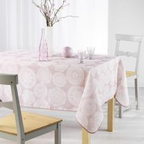 "Nappe Antitache ""Anais"" 150x240cm Rose"