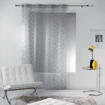 "Rideau Voilage ""Valina"" 140x240cm Taupe"