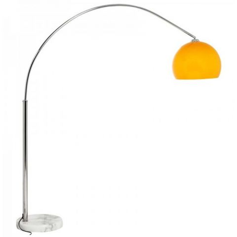 Lampadaire Arc Small Orange