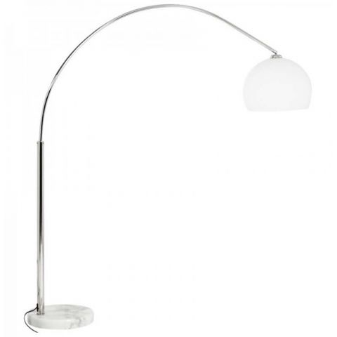 Lampadaire Arc Small blanc
