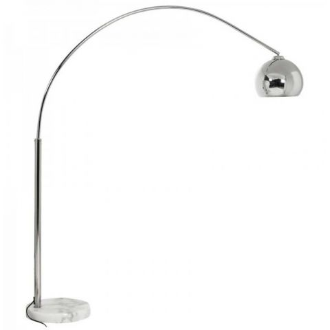 Lampadaire Arc Small Chrome