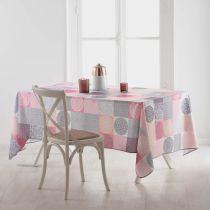 "Nappe Antitache ""Mantra"" 150x240cm Rose"