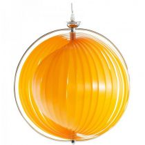 "Lampe Suspension ""Sphère"" 40cm Orange"
