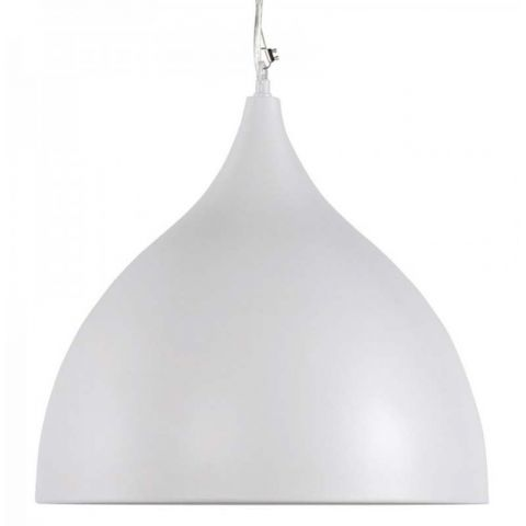 Lampe Suspension Cloche Blanc