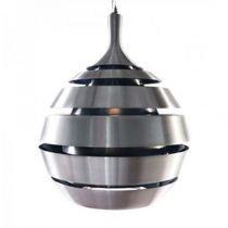Lampe Suspension Ball Argent