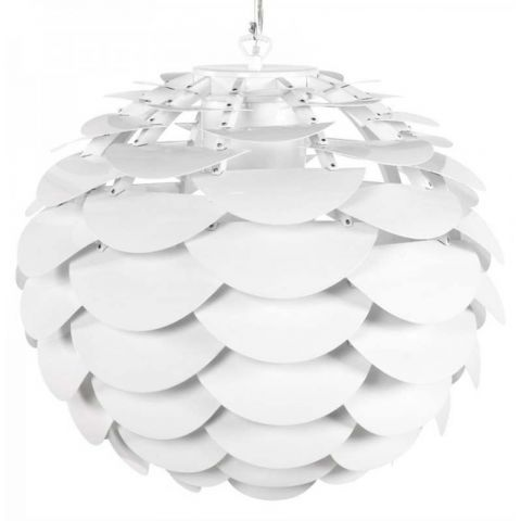 Lampe Suspension Pétale Blanc