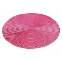 "Set de Table ""Zebulon"" 35cm Fuchsia"