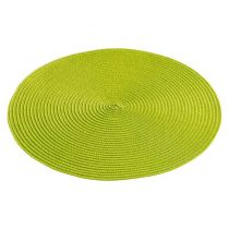 "Set de Table ""Zebulon"" 35cm Vert Anis"