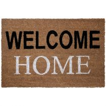 "Paillasson en Coco ""Welcome Home"" 40x60cm Naturel"