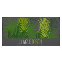 "Tapis Déco ""Jungle Dream"" 57x115cm Vert"