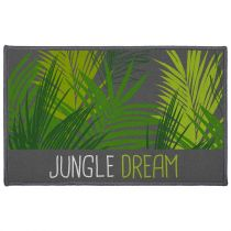 "Tapis Déco ""Jungle Dream"" 50x80cm Vert"