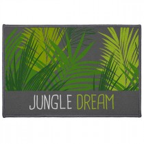 "Tapis Déco ""Jungle Dream"" 40x60cm Vert"