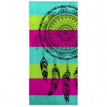 "Serviette de Plage ""Mirage"" 70x150cm Multicolore"