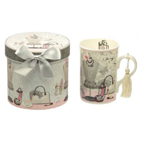 Mug en Porcelaine Fashion - Coffret Cadeau