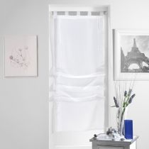 "Store Voilage ""Lissea"" 45x180cm Blanc"