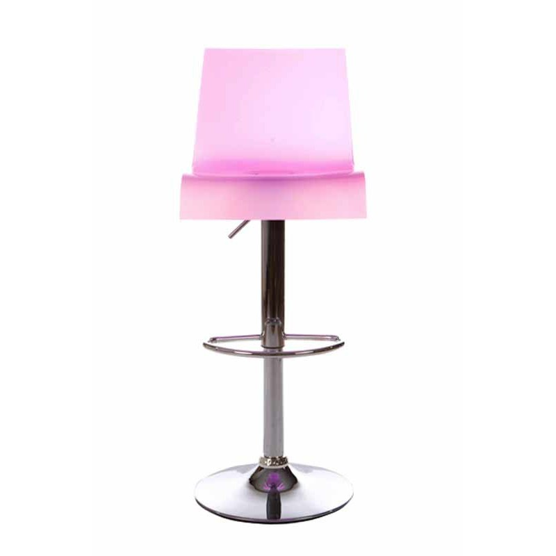 tabouret de bar space rose. Black Bedroom Furniture Sets. Home Design Ideas