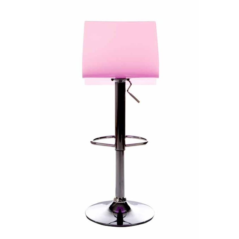 tabouret de bar rotatif space rose. Black Bedroom Furniture Sets. Home Design Ideas