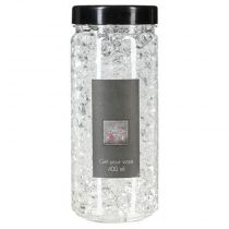 Gel Vase Crystal 400ml Transparent