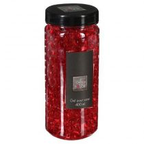 Gel Vase Crystal 400ml Rouge