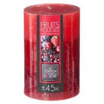 Bougie Parfumée Ronde Trio 310g Fruits Rouges