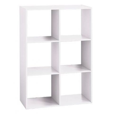 "Étagère 6 Cases ""Mix N Modul"" 67cm Blanc"
