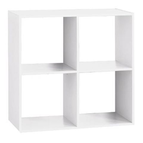 "Étagère 4 Cases ""Mix N Modul"" 67cm Blanc"