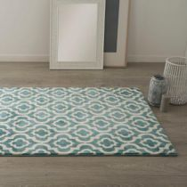 "Tapis de Salon ""Marvin"" 120x170 Bleu"