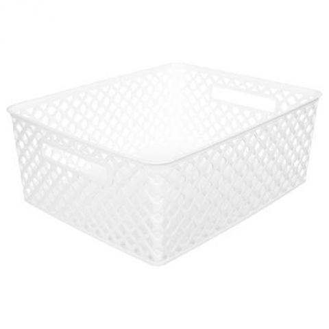"Panier Multi-Usages ""Basket"" 13cm Blanc"