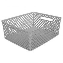 "Panier Multi-Usages ""Basket"" 13cm Gris"