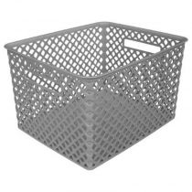 "Panier Multi-Usages ""Basket"" 22cm Gris"