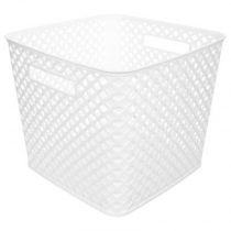 "Panier Multi-Usages ""Basket"" 27cm Blanc"