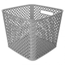 "Panier Multi-Usages ""Basket"" 27cm Gris"