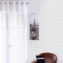 Voilage Cities Blanc 140x240cm