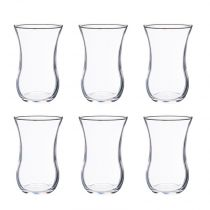 "Lot de 6 Verres à Thé ""Demli"" 12cl Transparent"