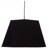 "Lampe Suspension Design ""Dori"" 42cm Noir"