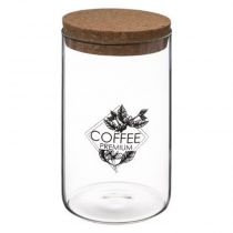 "Bocal en Verre ""Coffee"" 1L Transparent"