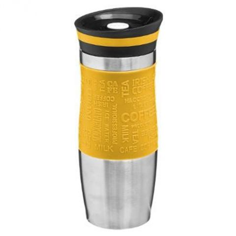 "Mug Isolant ""Colors"" 35cl Jaune"