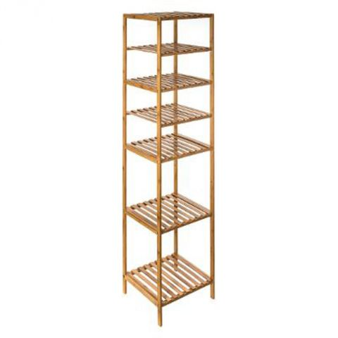 "Étagère 6 Cases ""Mix N Modul"" 145cm Naturel"
